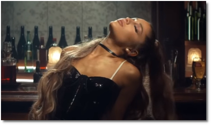 Ariana breathin video thumbnail (7 Nov 2018)