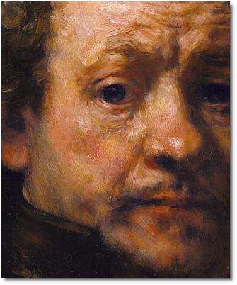 Rembrandt van Rijn (1606-1669) Self-Portrait (1660, Age 54) Bankrupt