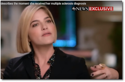 Selma Blair talks her MS diagnosis on Nightline with Robin Roberts (27 Feb 2019)