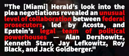 Ken Starr helps defend sexual predator of minors Jeffrey Epstein (8 July 2019, The Darkness of Corruption)