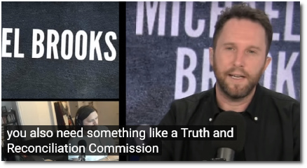 Michael Brooks says we need a Truth and Reconciliation Commission to really move beyond America's dark days of torture under the Bush administration (12 Oct 2019)