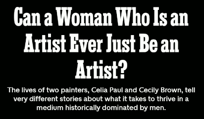 Can a woman Who is an Artist Ever be Just an Artist? by Rachel Cusk for NY Times Magazine (7 Nov 2019)