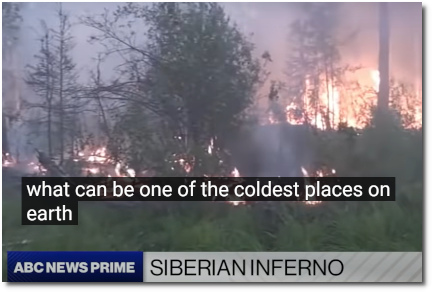 Siberian wildfires now bigger than all other fires in world combined ABC News (11 Aug 2021)