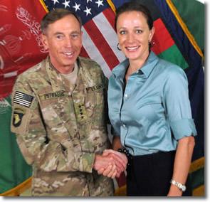 General David Petraeus and Paula Broadwell