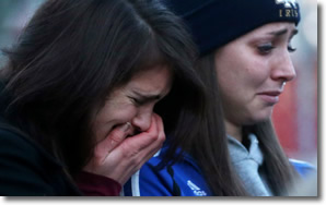 Tears in Newtown