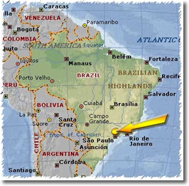 Sao Paulo, Brazil (map)