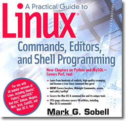 Linux Book by Mark Sobell (2012) 3rd edition
