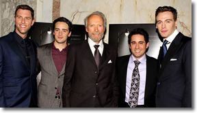 The Jersey Boys with Clint (June, 2014)