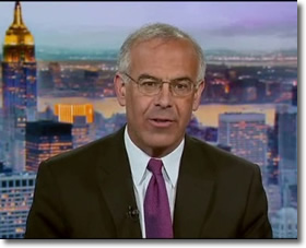 David Brooks with gray hair