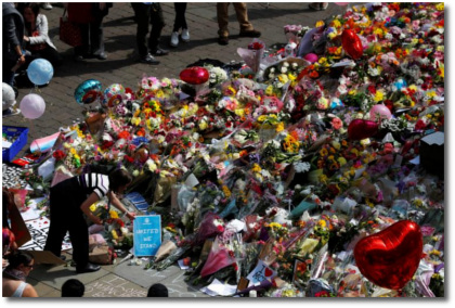 More flowers in Manchester May 24, 2017