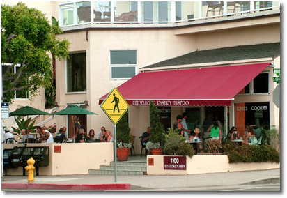 Heidelberg Cafe & Bistro on PCH in south Laguna Beach