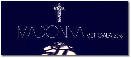 Madonna at the Met Gala (7 May 2018)