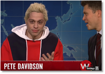 Pete Davidson Weekend Update SNL (29 Sept 2018)
